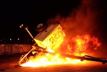Студенты устроили протест против Мило Яннопулоса. Фото: twitter.com/shane_bauer