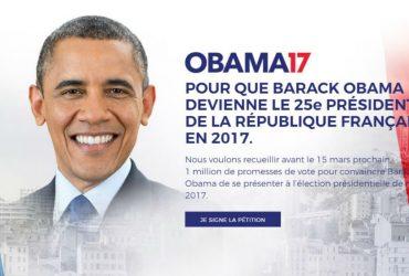 Французы хотят видеть Обаму президентом страны