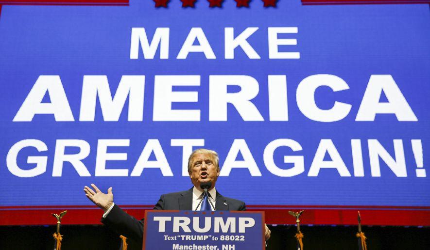 Трамп уже хочет накопить на новые выборы. Фото: washingtontimes.com