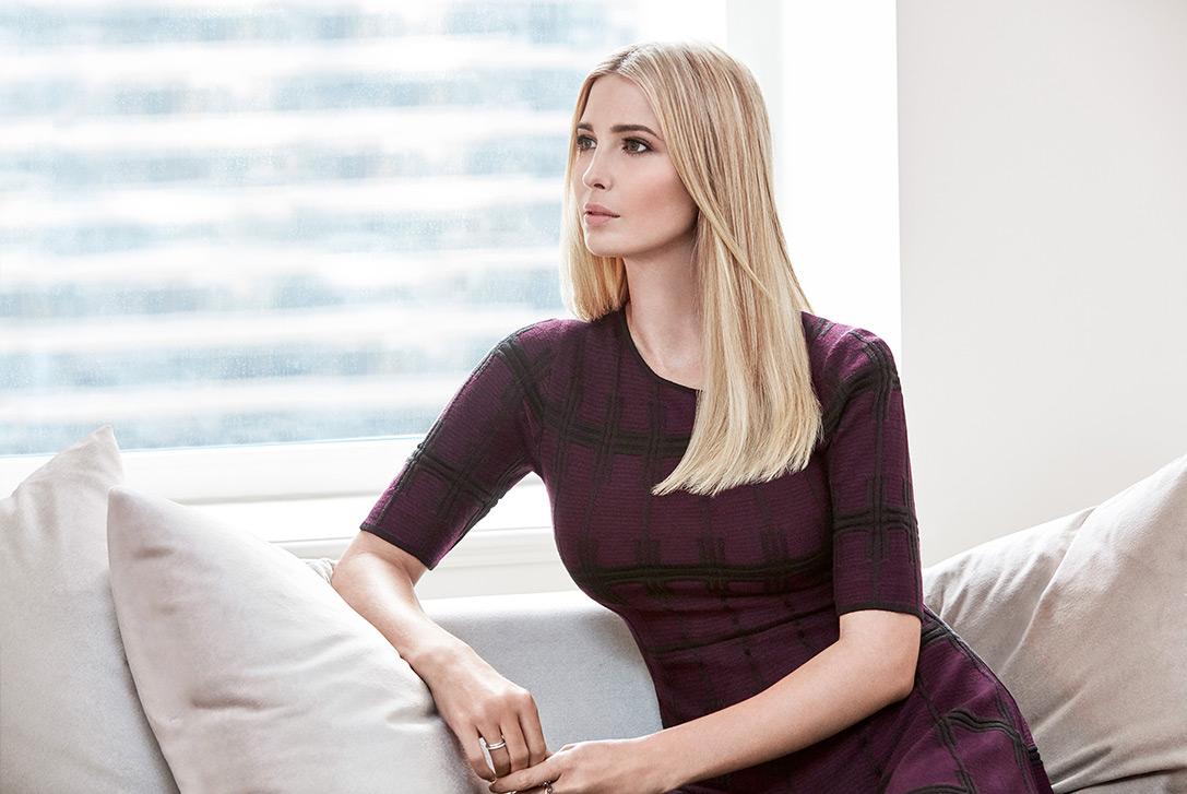 Иванку называют любимой дочерью Дональда Трампа. Фото: ivankatrump.com