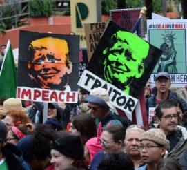 В Президентский день планируются масштабные антитрамповские протесты