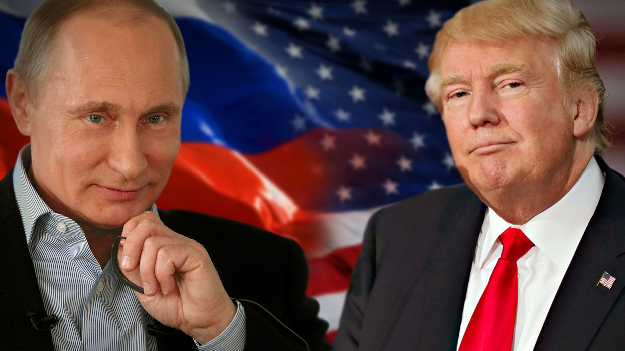 Трамп и Путин разошлись в мнениях по поводу Крыма. Фото: politeka.net
