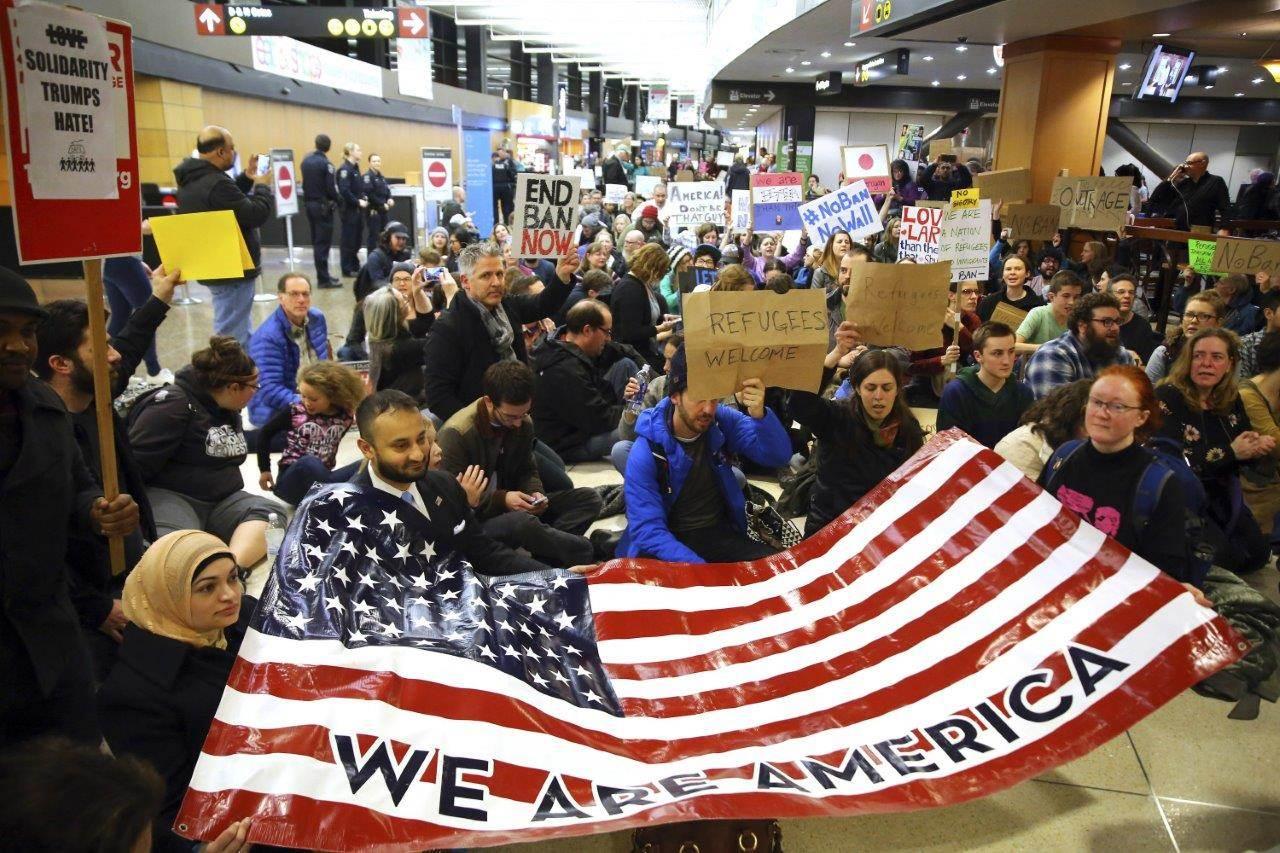 Многие мусульмане теперь не могут вьехать в США. Фото: nbcnews.com