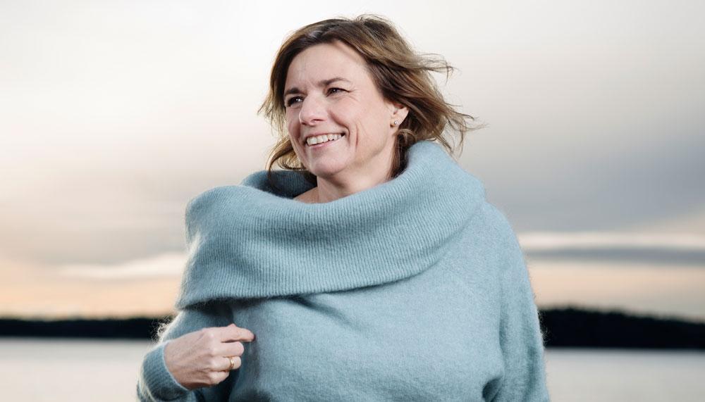 Изабелла Ловин -вице-премьер министр Швеции. Фото femina.se