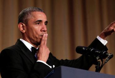 Обаму поставили на 12-е место в рейтинге президентов США