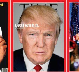 ФОТО: Новая обложка Time показывает первые месяцы правления Трампа