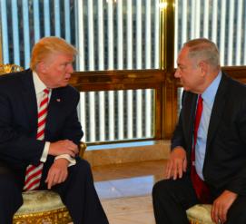 Трамп попросил Нетаньяху подождать с переселением в Палестине