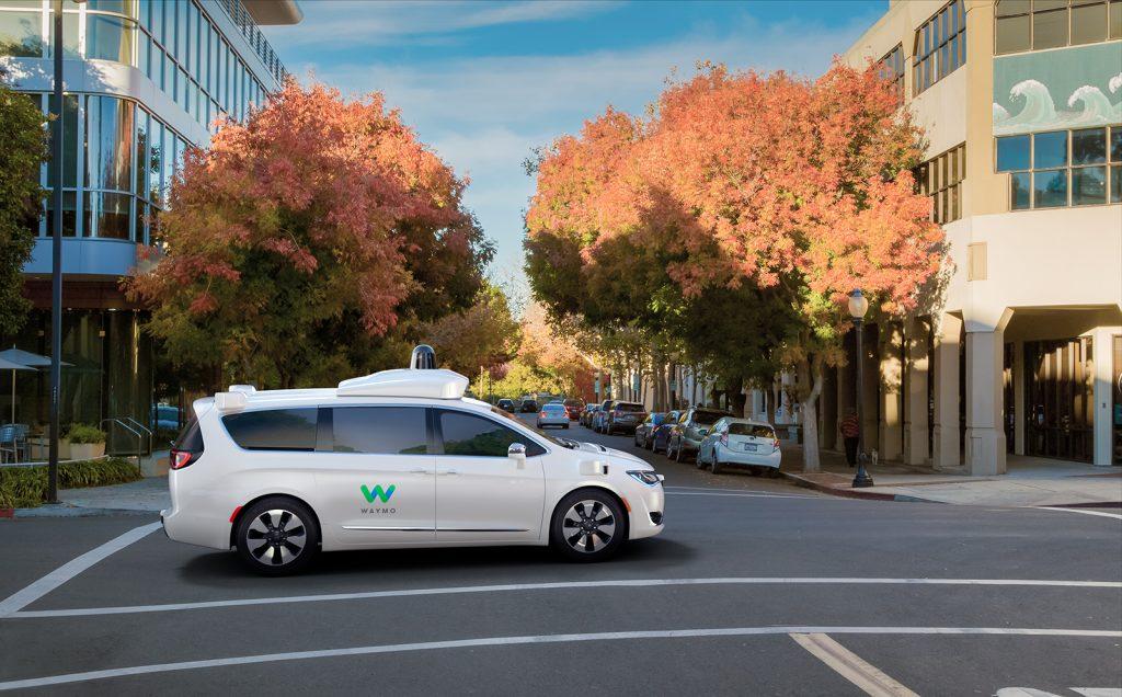 Автомобиль Waymo на самоуправлении. Фото googleapis.com