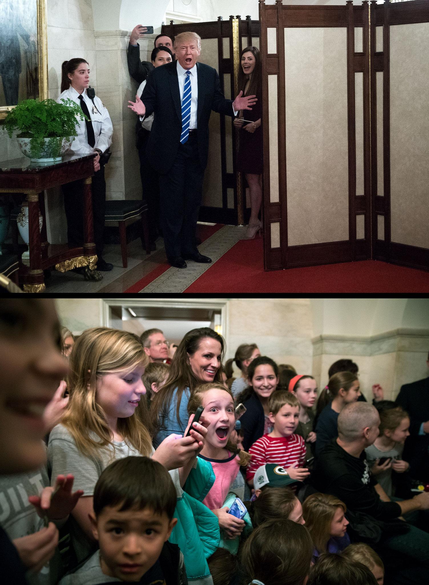 Сюрприз от президента. Фото: nytimes.com