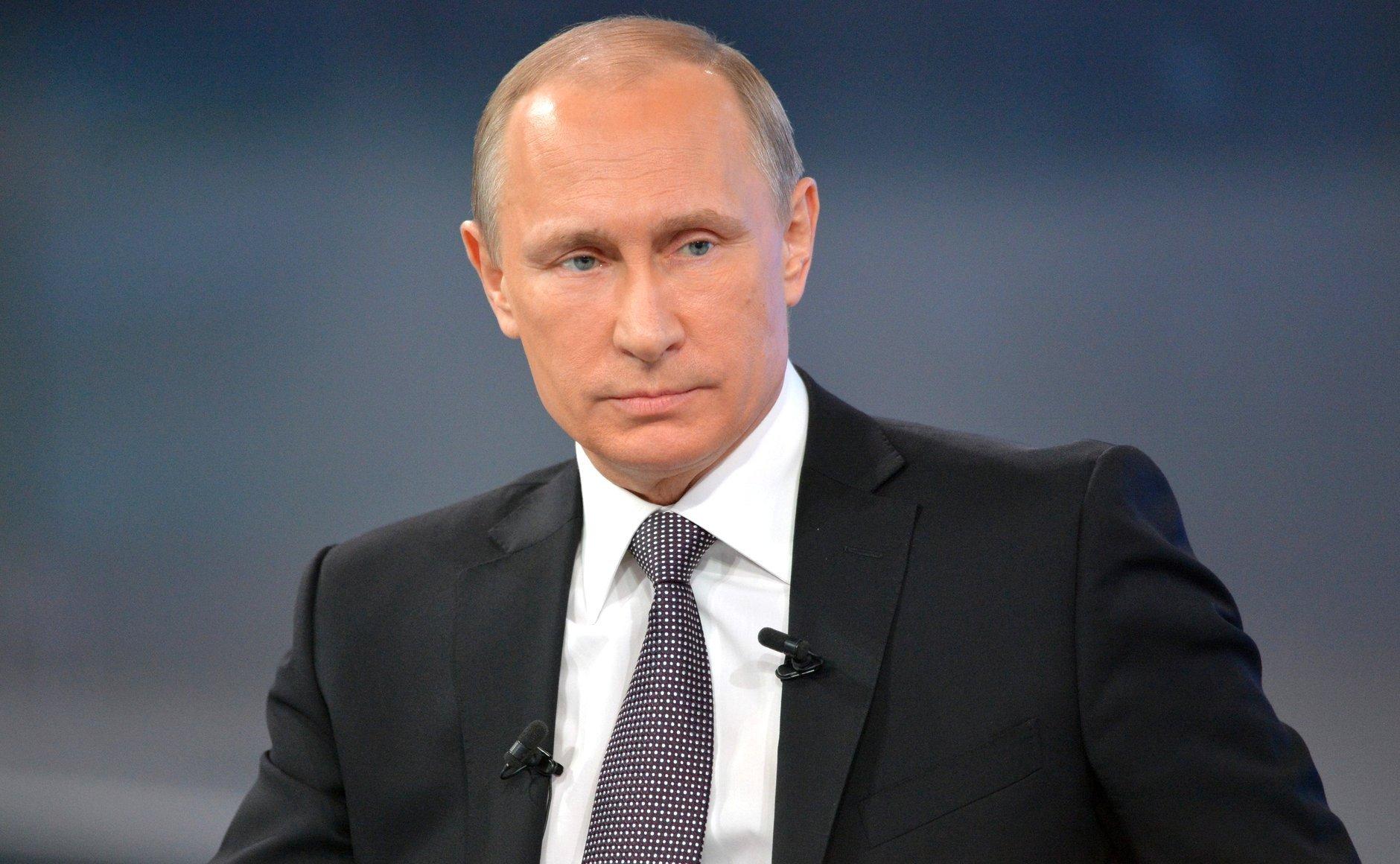 Владимир Путин не признает вмешательство России в выборы. Фото: svopi.ru