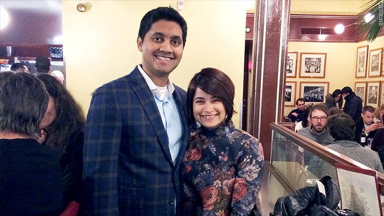 Кетаки Десаи и ее муж Гириш. Фото: cnn.com