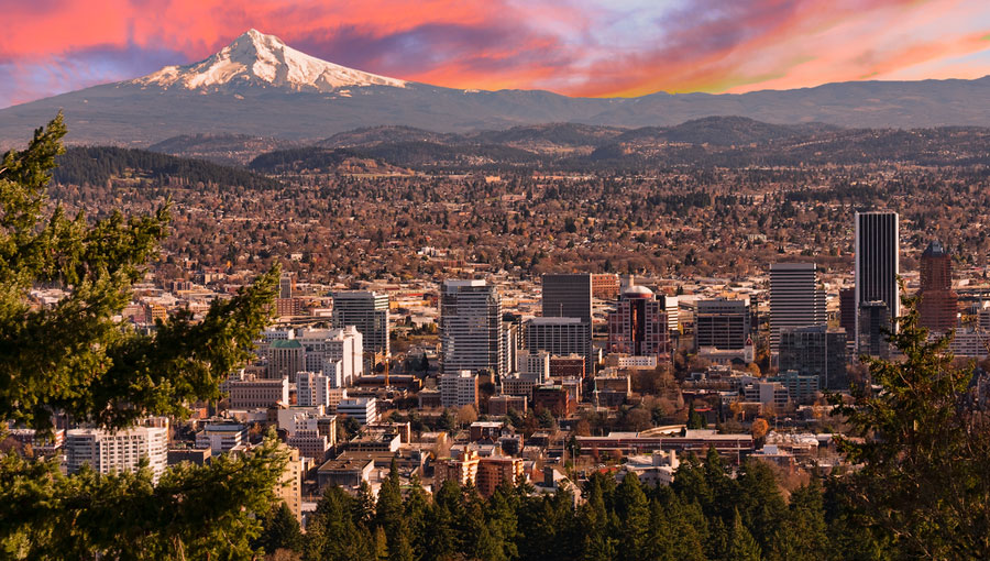 Портланд, Орегон. Фото forbes.com