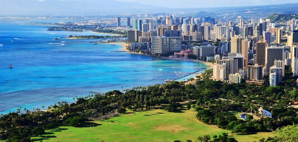 Гонолулу, Гавайи. Фото businessinsider.com