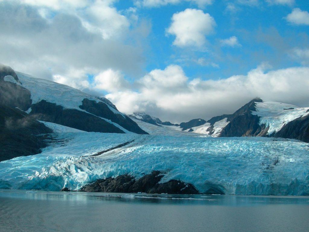 Ледник Портедж Глейшер. Фото businessinsider