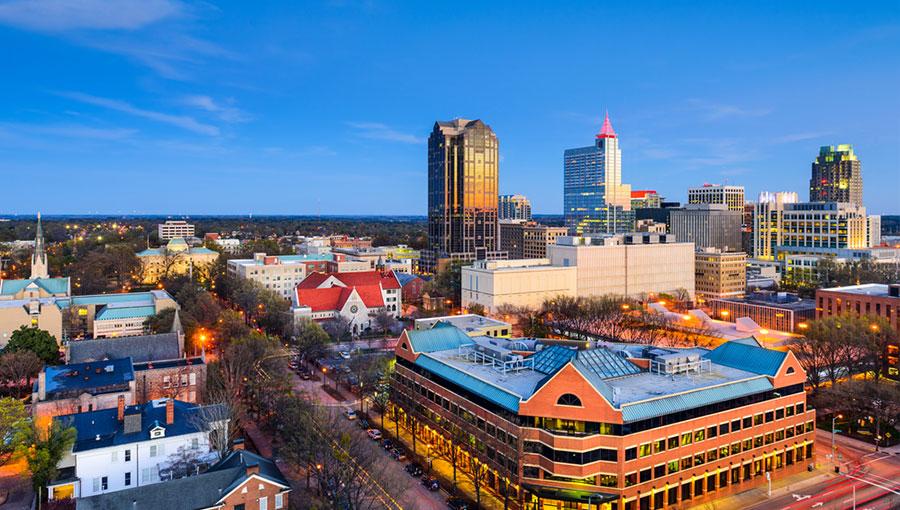 Роли, Северная Каролина. Фото forbes.com