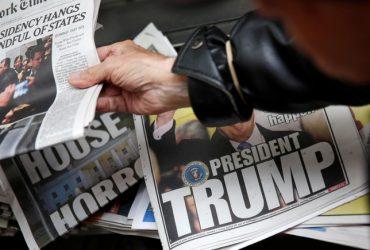 СМИ ради экономии могут использовать для всех статей о Трампе один и тот же заголовок