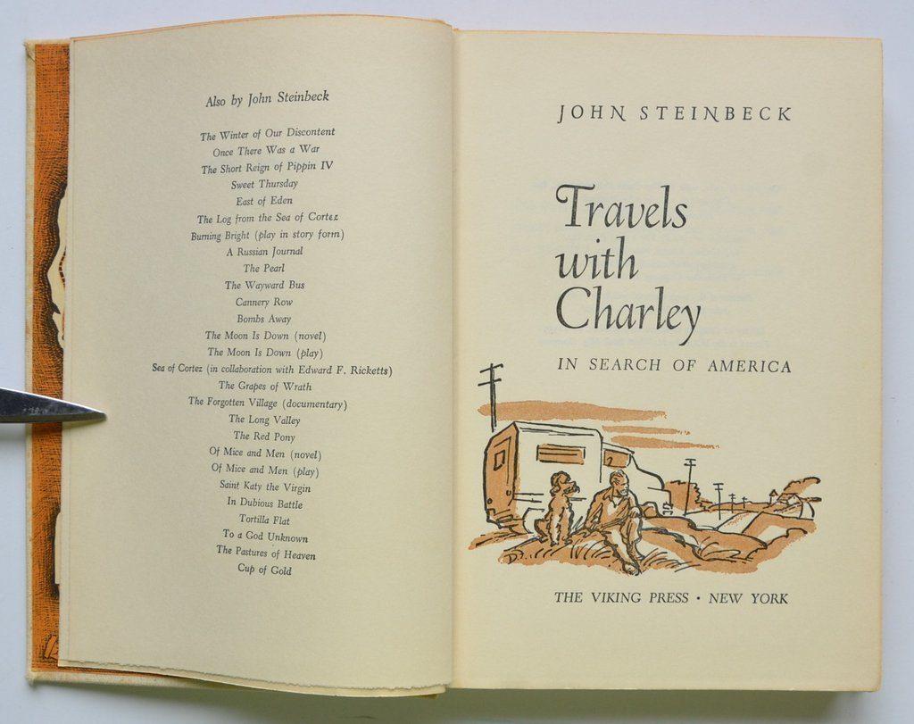"""Джон Стейнбек """"Путешествие с Чарли в поисках Америки"""". Фото columbus-chocolate.com"""