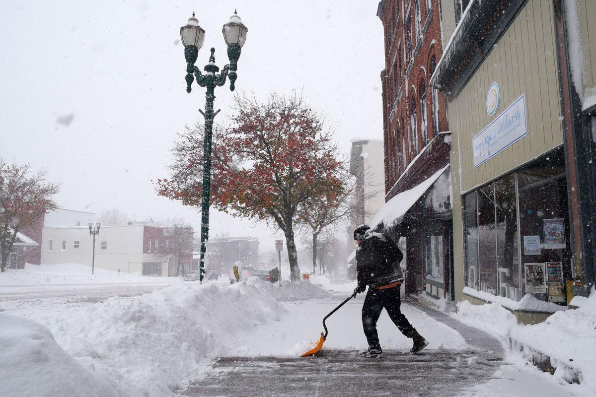 В США на несколько дней вренется зима. Фото: auburnpub.com
