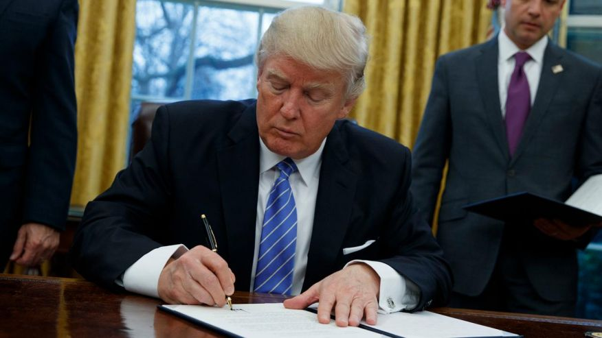 Новый иммиграционный указ исключает Ирак. Фото: foxnews.com