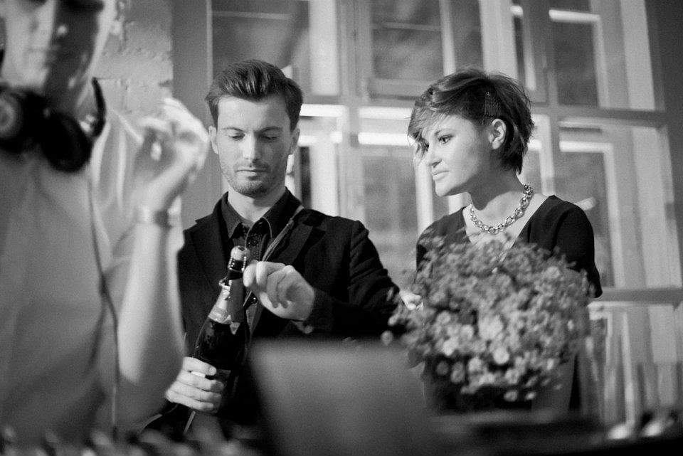 Роман и Евгения на вечеринке. Фото: openreporter.ru