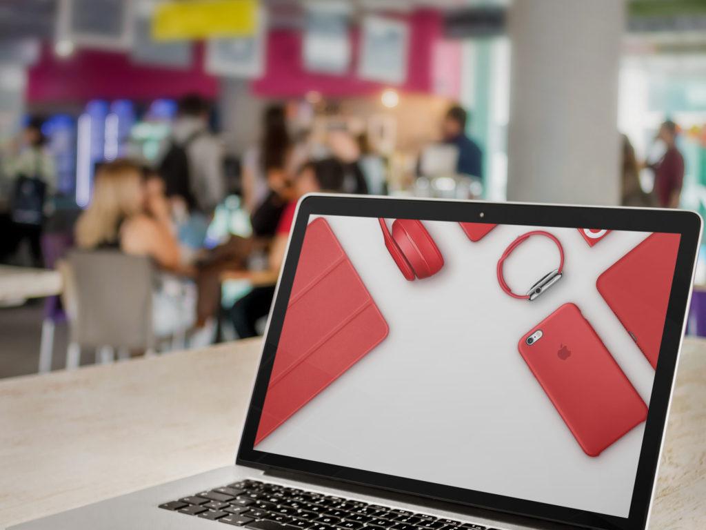 Красная продукция часто выпускается в поддержку борьбы со СПИДом. Фото: idownloadblog.com