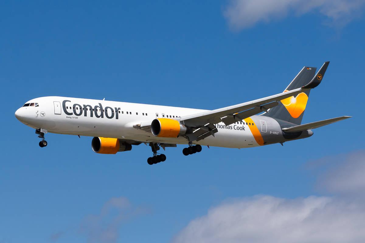 Компания Condor Airlines запускает рейсы в Украину. Фото: aviationgazette.com