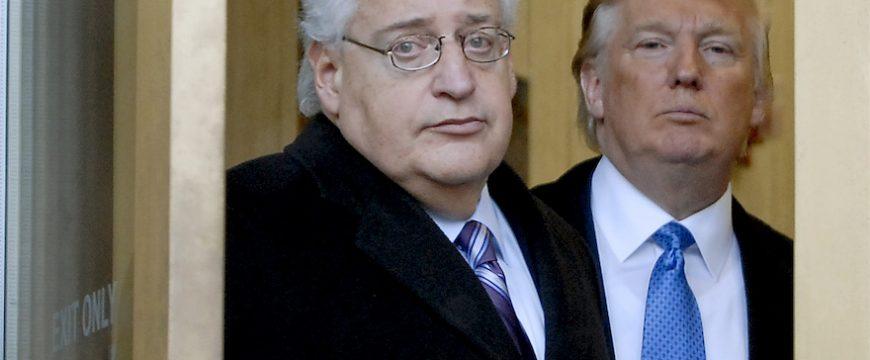 Дэвид Фридман - бывший адвокат Трампа. Фото: jta.org