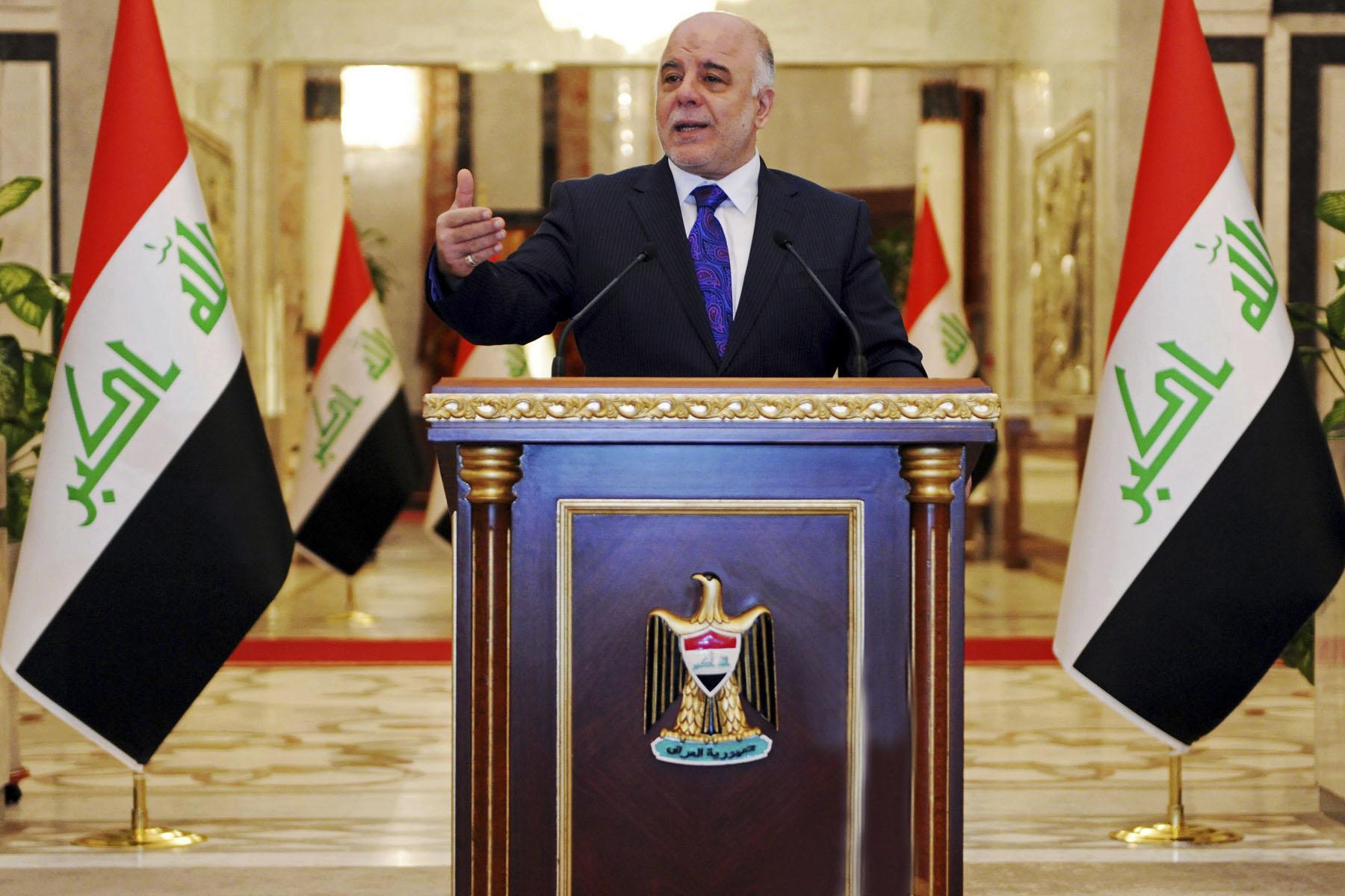 Премьер-министр Ирака Хайдер Аль-Абади грозился принять ответные меры для въезда граждан США. Фото: nileinternational.net