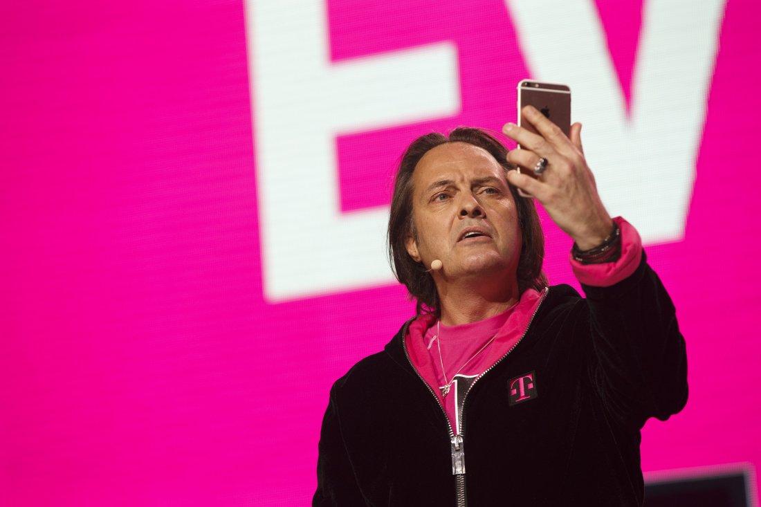 T-Mobile раздает iPhone 7. Фото: fortune.com