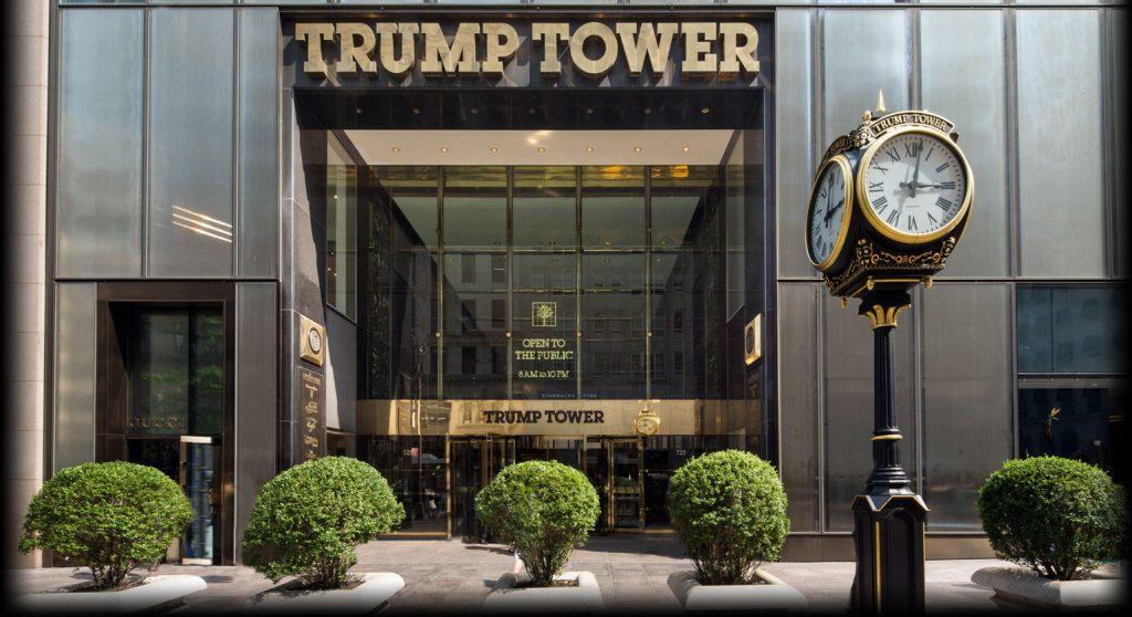 Trump Tower. Фото trumptowerny
