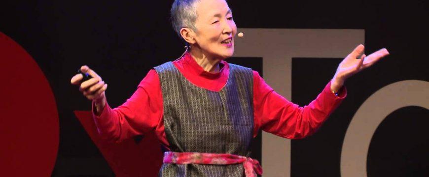 Масако Вакамия віступила со своим приложением на японском TedX. Фото: mashable.com