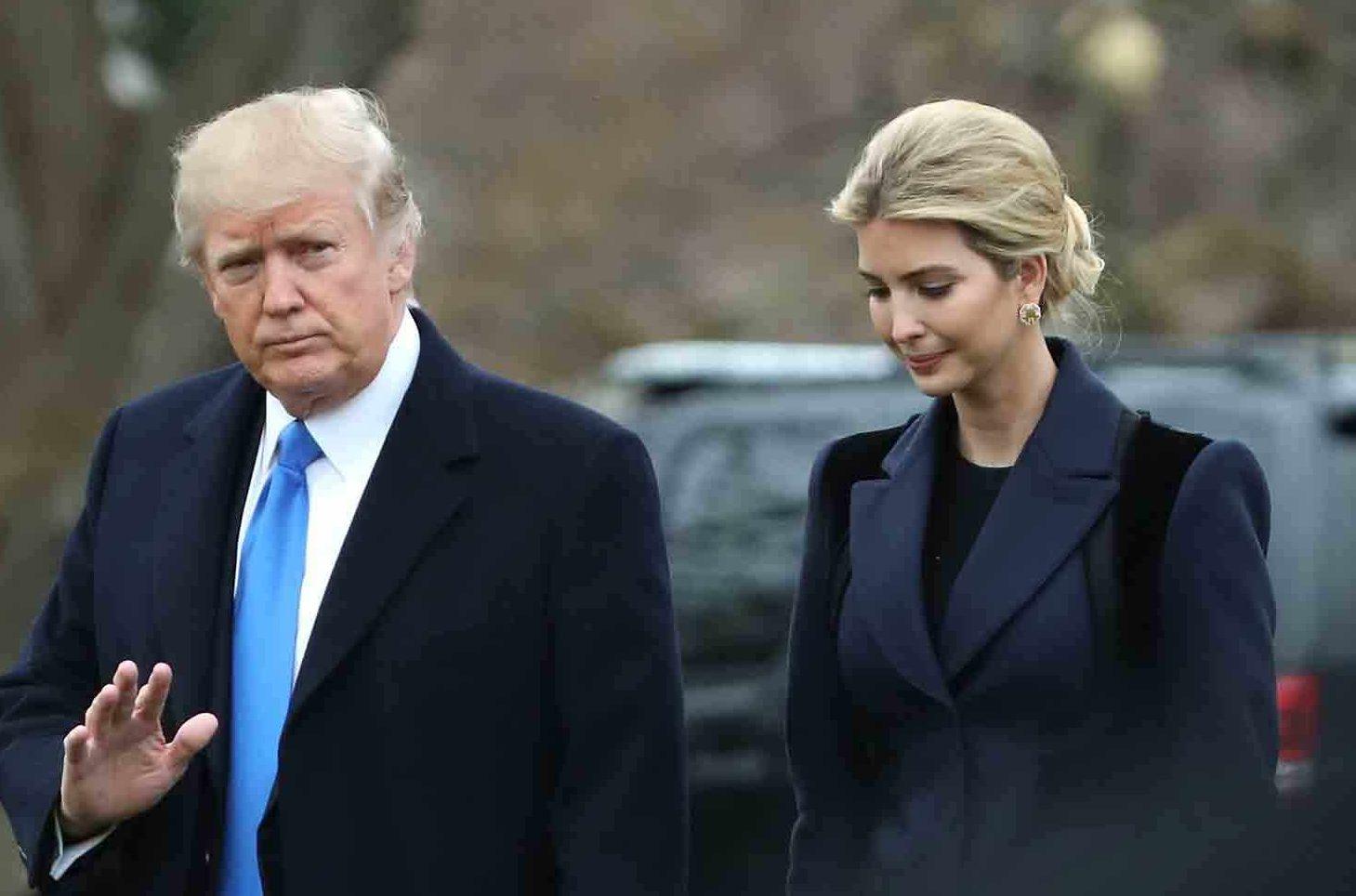 Иванка Трамп всегда играла важную роль в бизнесе и политической карьере отца. Фото: ktla.com
