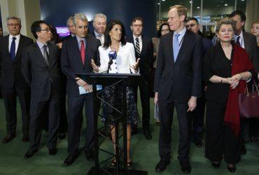 CША вместе с несколькими десятками других стран бойкотирует  саммит ООН. Фото: time.com