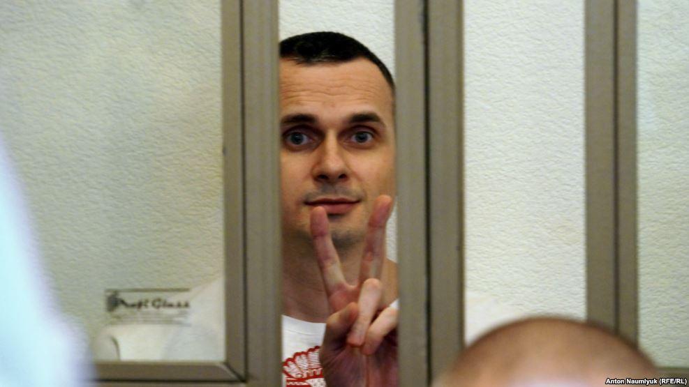 Олег Сенцов уже три года находится в тюрьме. Фото: euromaidanpress.com