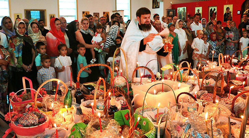 В это воскресенье в соборе Святой Матроны - освящение пасок. Фото stmatrona.com
