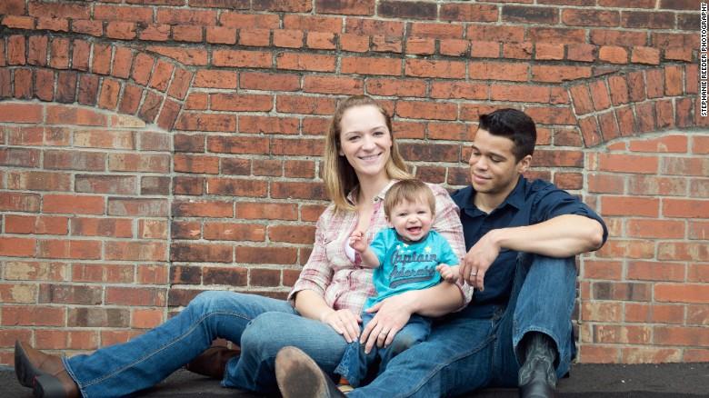 Один из ранних семейных портретов пары. Фото: cnn.com
