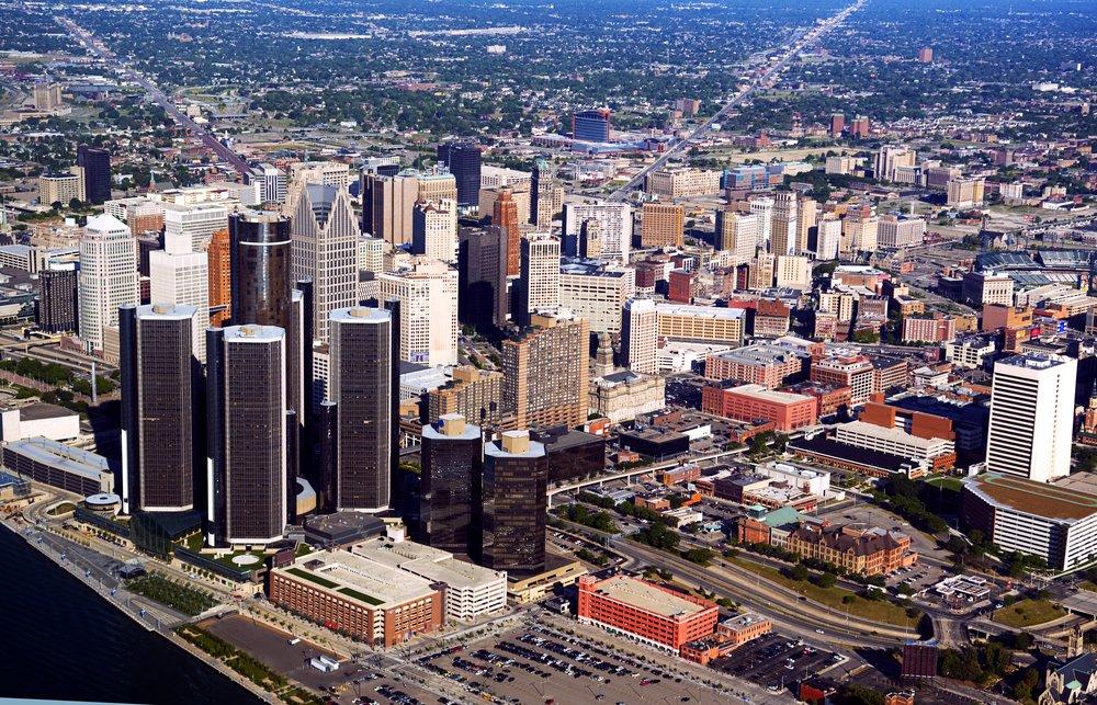 Детройт - самый большой город в Мичигане. Фото: businessinsider.com