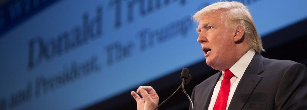 Дональд Трамп выступил с новым обращением к народу. Фото alinareyzelman.ru