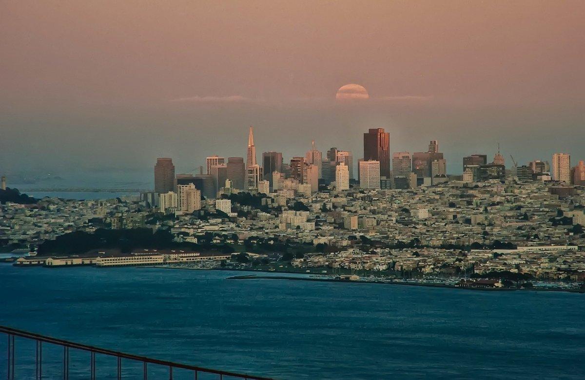 Сан-Франциско - четвертый город в Калифорнии по величине. Фото: businessinsider.com