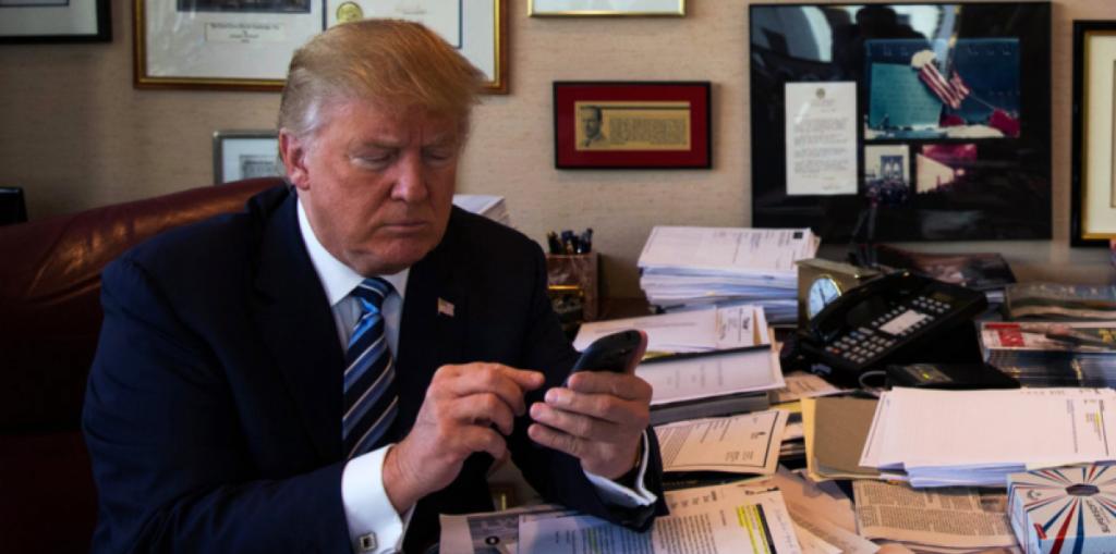 Трамп уверен, что Барак Обама прослушивал его во время президентской кампании. Фото http://ukranews.com