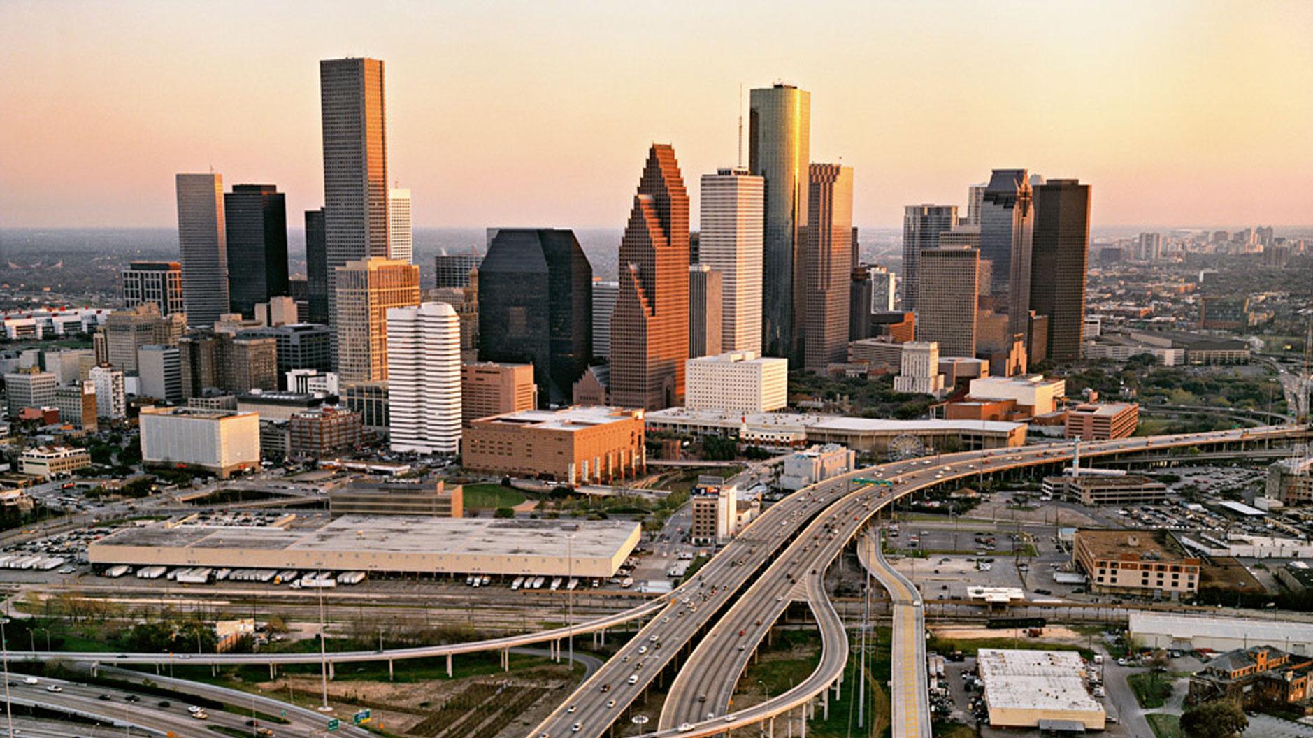Хьюстон - самый густонаселенный город Техаса. Фото: thinglink.com