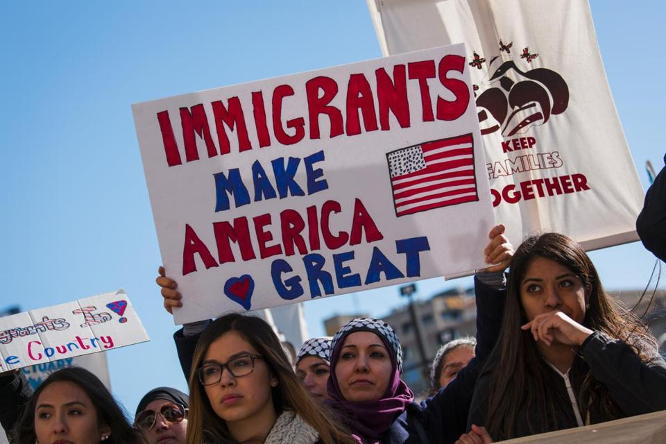 immigration and america For american workers, immigration is primarily a redistributive policy.