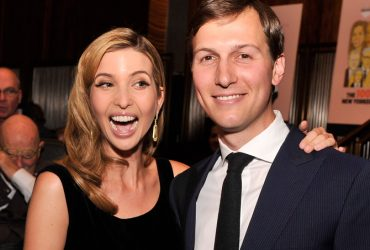 NEW YORK, NY - MARCH 14:  Businesswoman Ivanka Trump and New York Observer Publisher Jared Kushner attend The New York Observer 25th Anniversary Party at Four Seasons Restaurant on March 14, 2013 in New York City.  (Photo by Stephen Lovekin/Getty Images)