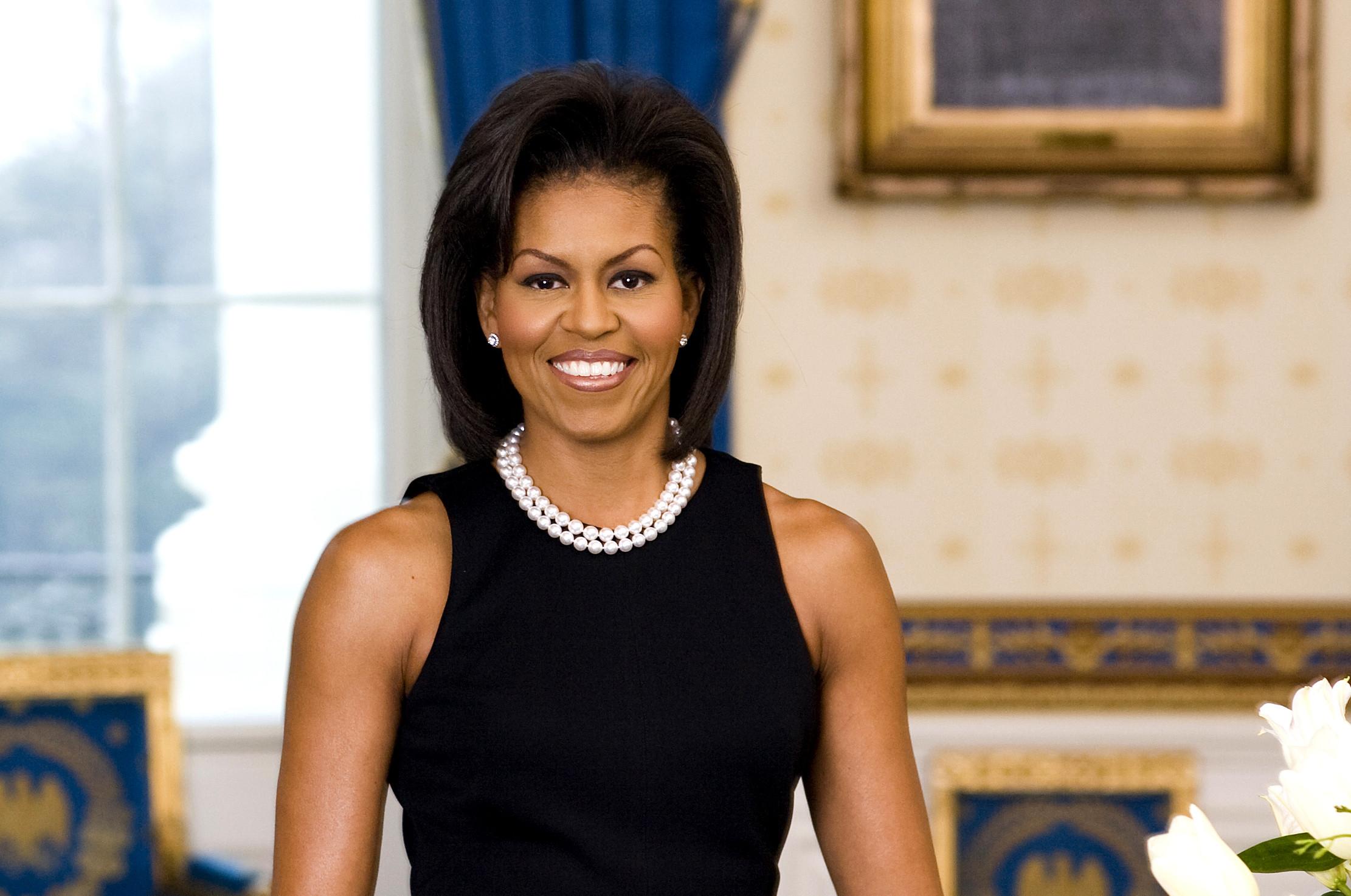 Первое официальное фото Мишель Обамы. Фото: the-toast.net