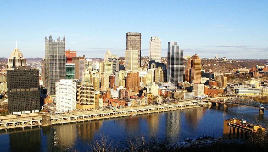 Питтсбург - второй по величине город в Пенсильвании. Фото: livability.com