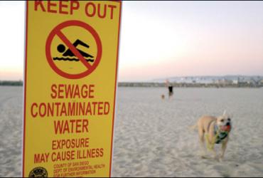 Пляжи Сан-Диего закрывают из-за слива сточных вод