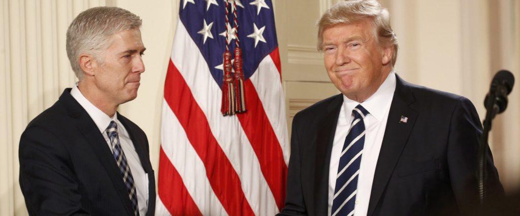 Нил Горсач и Дональд Трамп. Фото life.ru