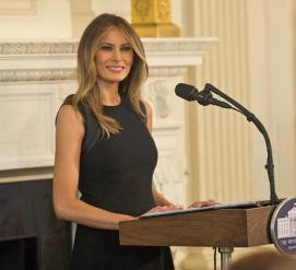 ФОТО: В Белом доме появился официальный портрет Мелании Трамп