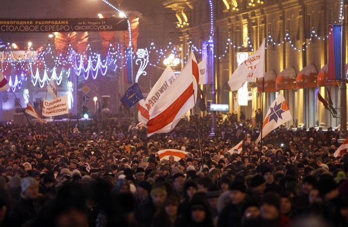 Протесты в Минске 2010 года. Фото: news.tut.by
