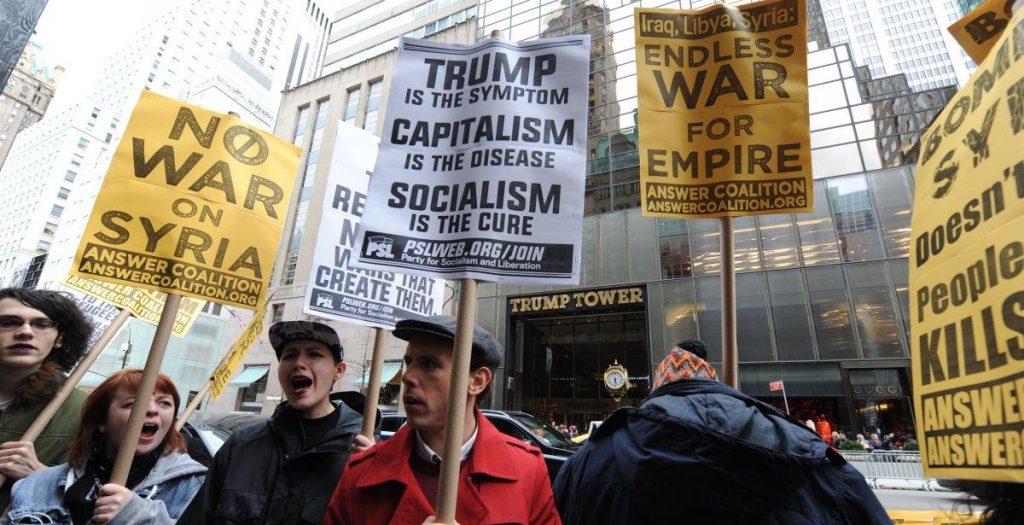 Протестующие на Пятой авеню в Нью-Йорке. Фото nydailynews.com
